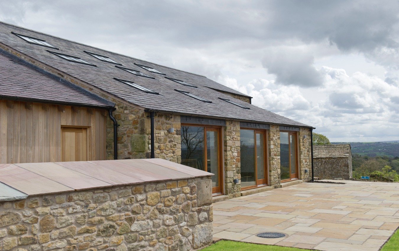 Barn conversion in Dutton, Cheshire by Stanton Andrews