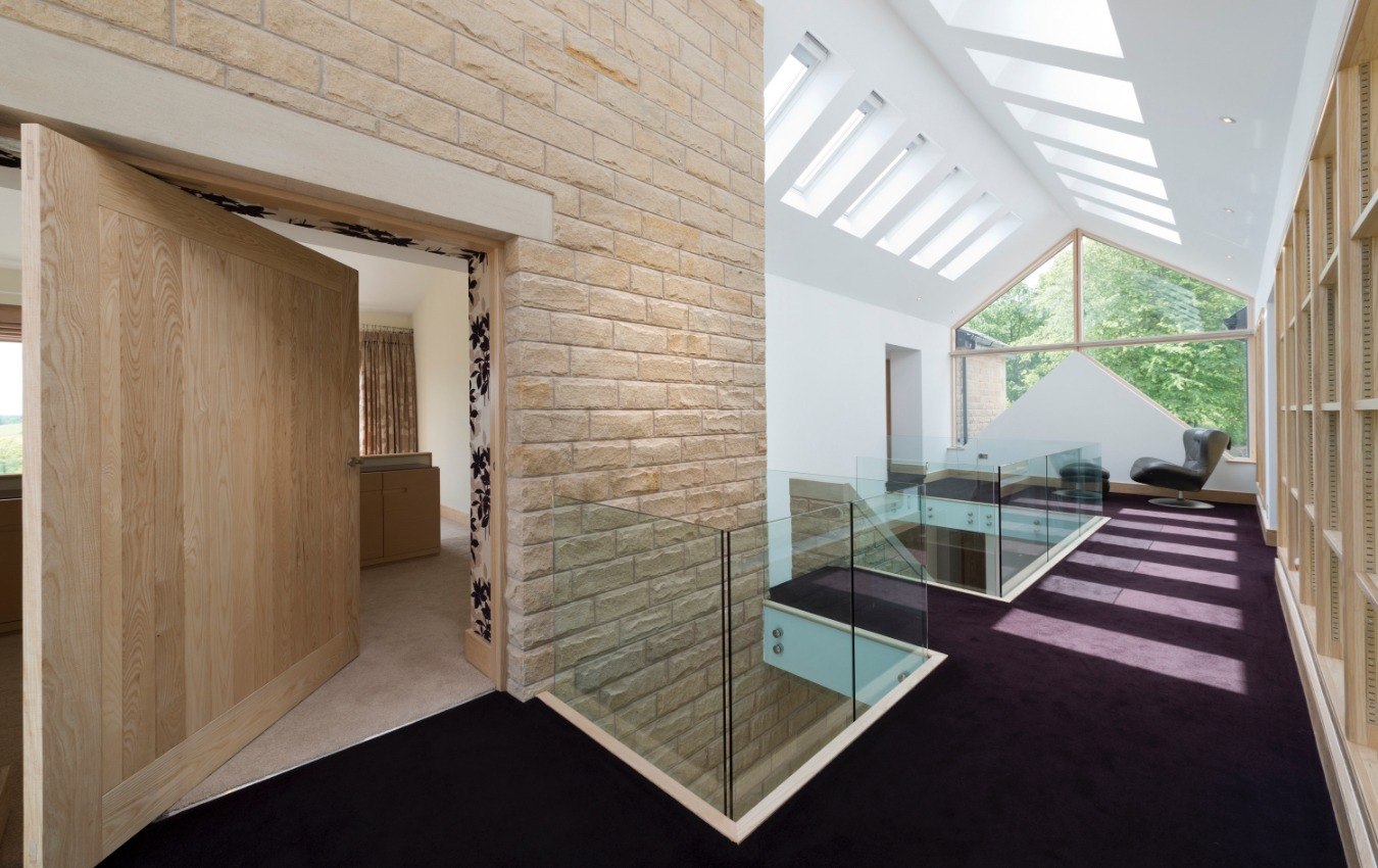 West Pennine Moors - Farmhouse extension by Stanton Andrews