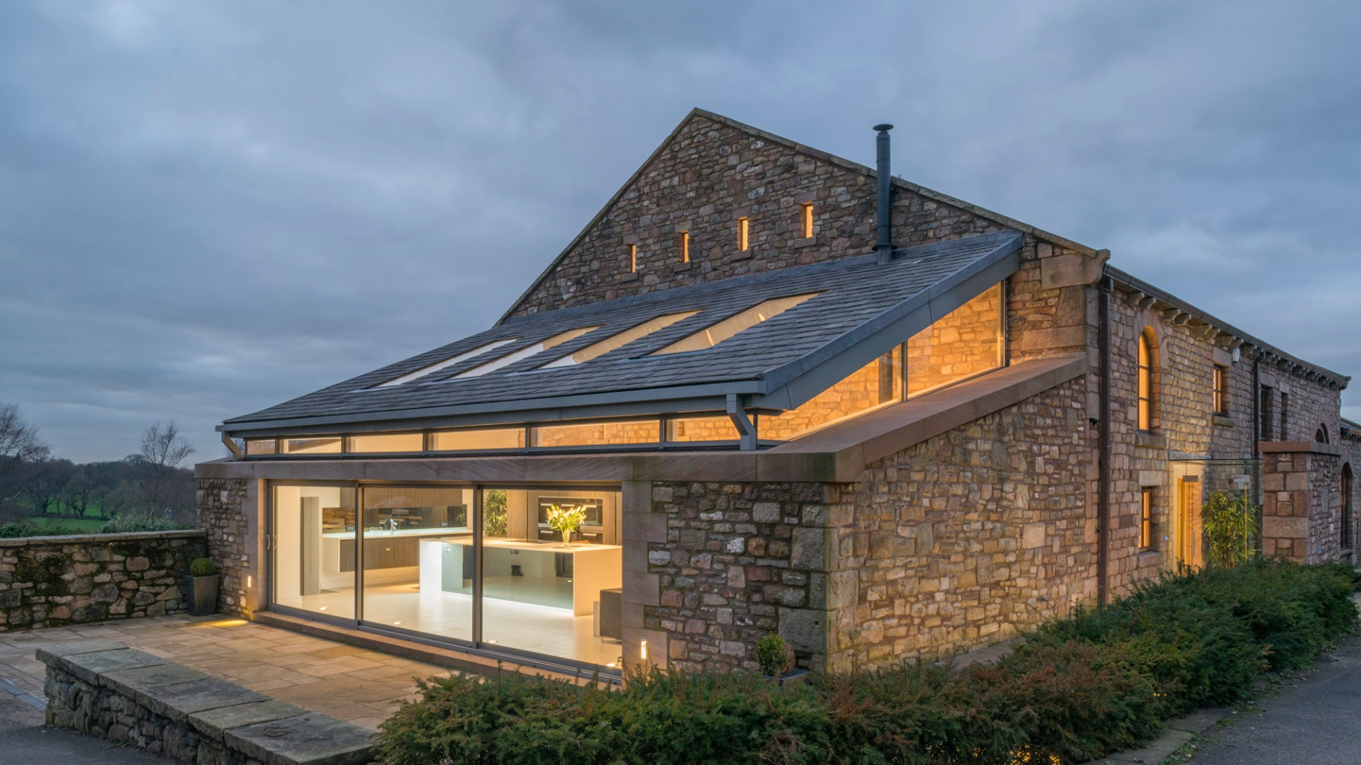 Barn conversion in White Coppice, Lancashire by Stanton Andrews Architects