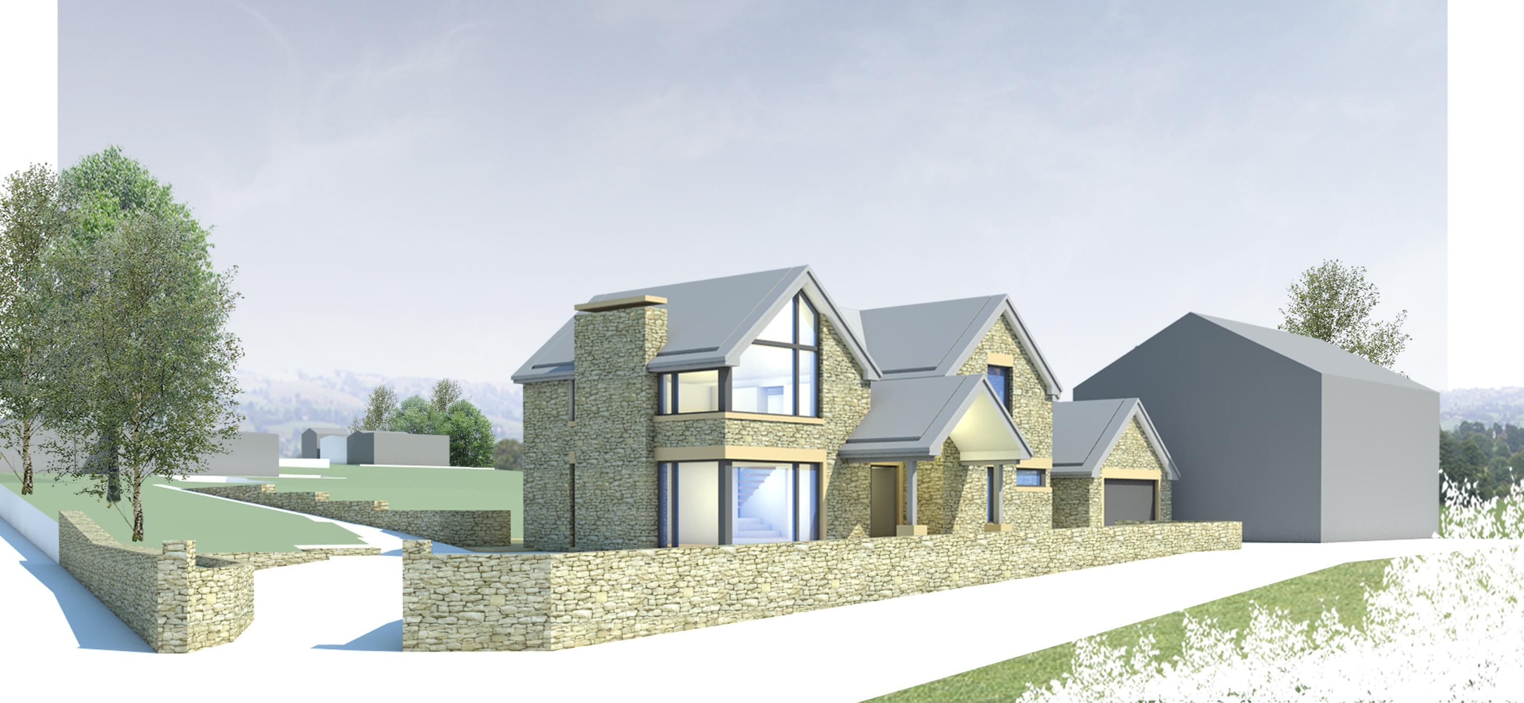 Stanton Andrews house design option 3