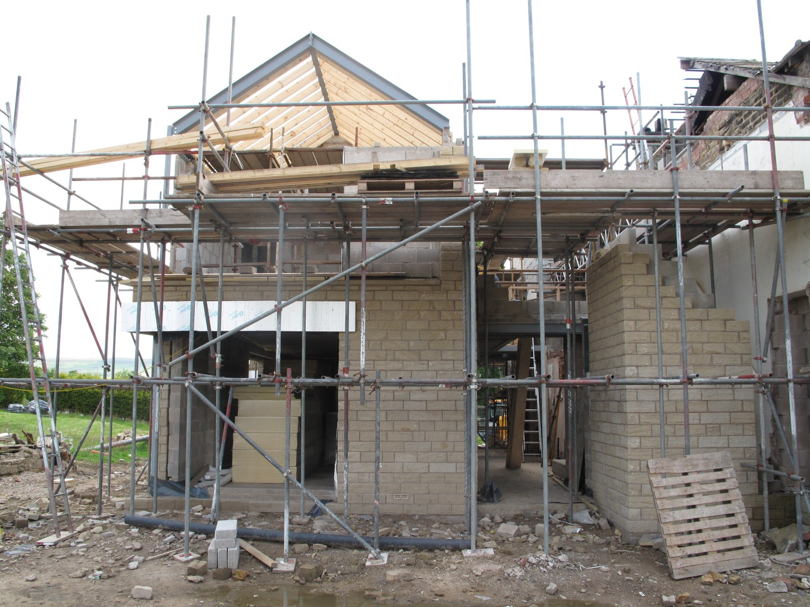 Building in progress - a Stanton Andrews project