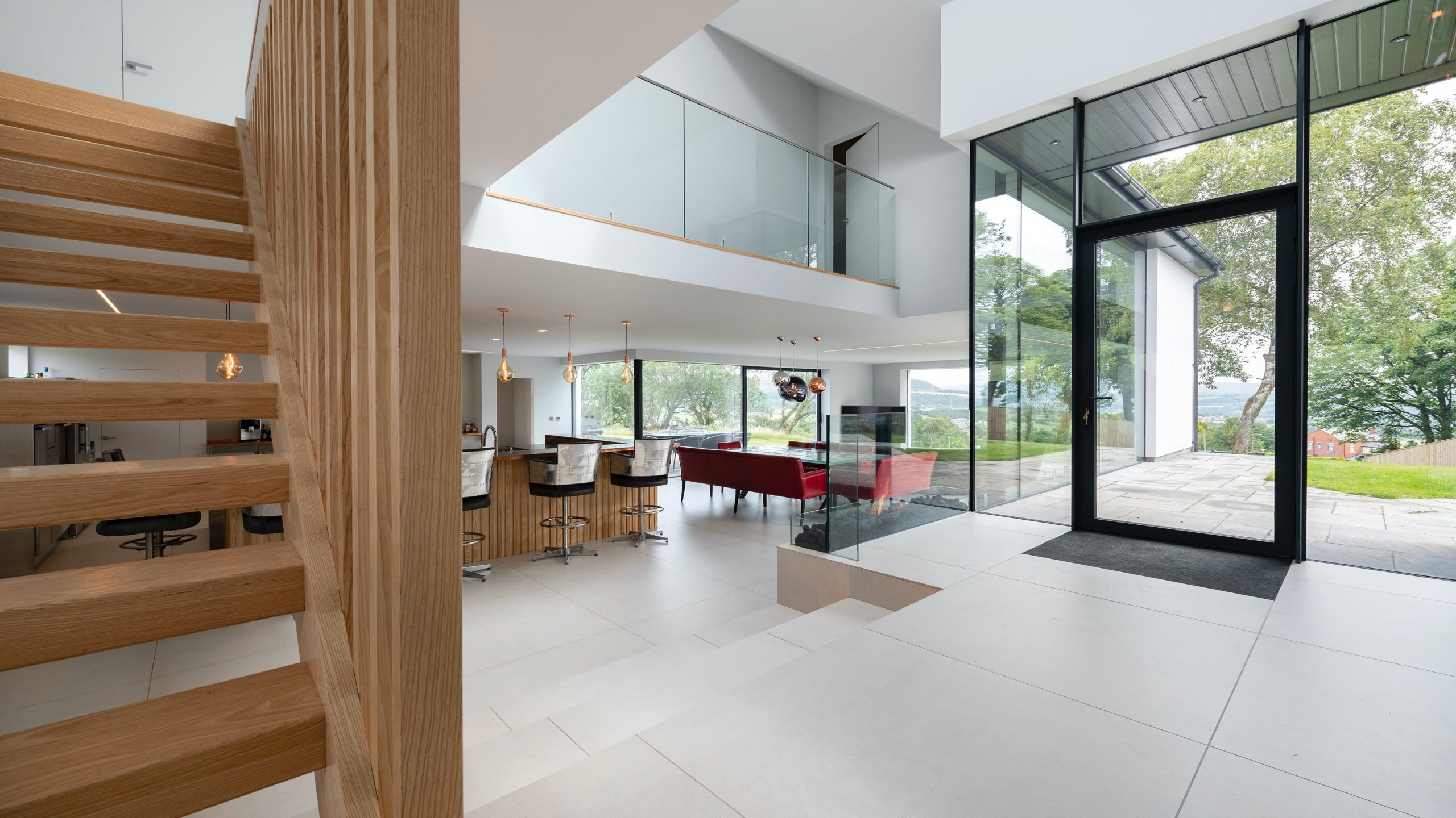 Interior of newly built house