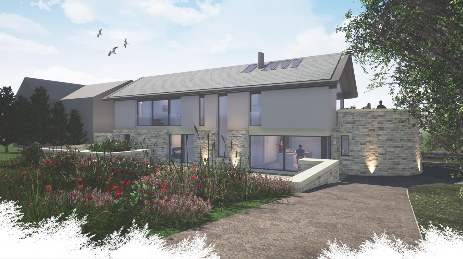 HF rear of house